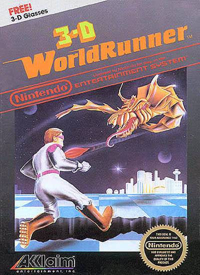 3-D WorldRunner - Nintendo Entertainment System