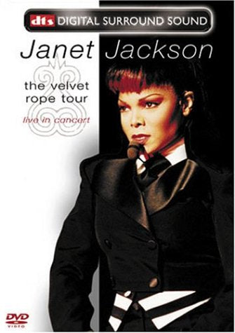 Janet Jackson The Velvet Rope Tour Live In Concert Dts