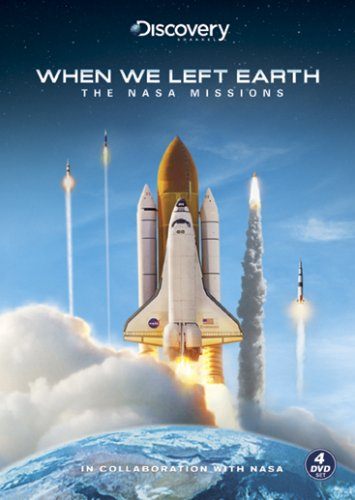 When We Left Earth: The Nasa Missions 4-Disc Set
