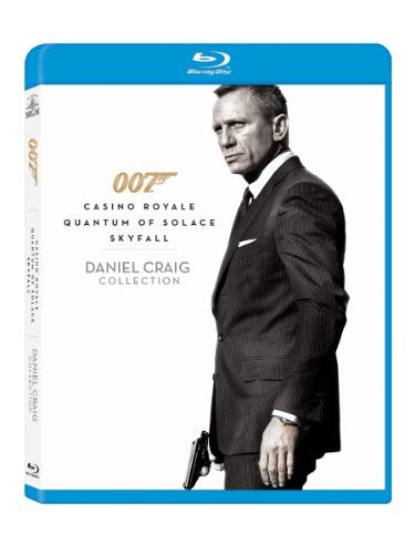 007 Daniel Craig Collection Casino Royale / Quantum Of Solace / Skyfall