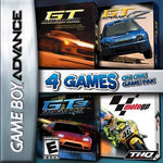4 Games on One Game Pak GT Advance  GT Advance 2  GT Advance 3  MotoGP