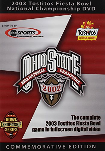 Ohio State Buckeyes 2003 Tostitos Fiesta Bowl National Championship