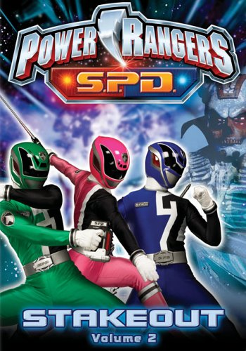 Power Rangers Spd Stakeout Vol 2