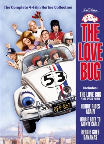 Herbie The Love Bug Collection The Love Bugherbie Goes To Monte Carloherbie Goes Bananasherbie Rides Again