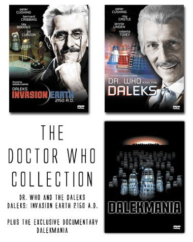 The Doctor Who Collection Daleks Invasion Earth 2150 A.D. / Dr. Who And The Daleks / Dalekmania