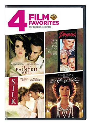 4 Film Favorites Epic Romances Affair Of The Necklace, Dangerous Liaisons, Painted Veil, Silk