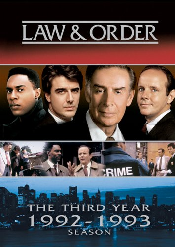 Law And Order The Third Year 19921993 Season