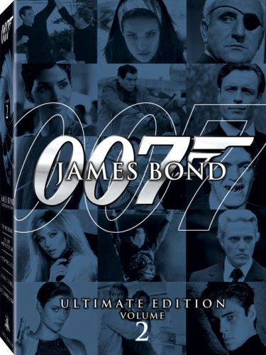James Bond Ultimate Edition  Vol 2 A View To A Kill  Thunderball  Die Another Day  The Spy Who Loved Me  Licence To Kill