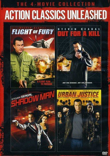 Action Classics Unleashed The 4Movie Collection Flight Of Fury Out For A Kill Shadow Man Urban Justice