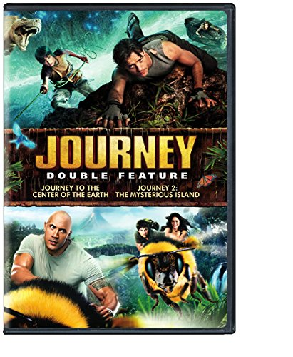 Journey Double Feature Journey To The Center Of The Earth Journey 2 The Mysterious Island