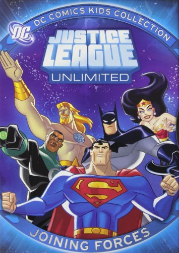 Justice League Unlimited Joining Forces Dc Comics Kids Collection