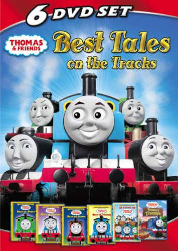 Thomas Friends Best Tales On The Tracks 6Disc Set