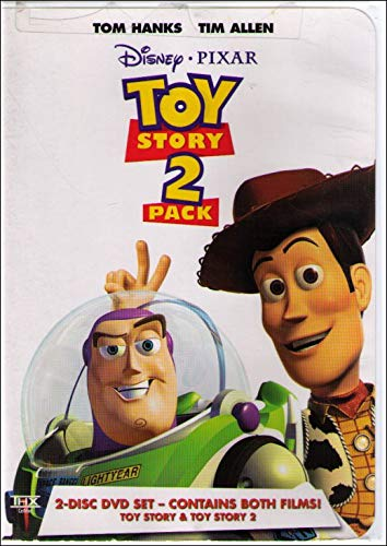 Toy Story  Toy Story 2 2 Pack
