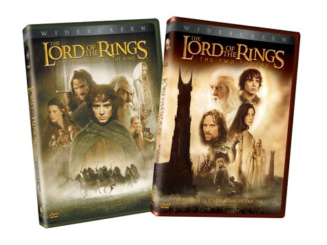 The Lord Of The Rings - The Fellowship Of The Ring / The Two Towers Widescreen Editions 2-Pack