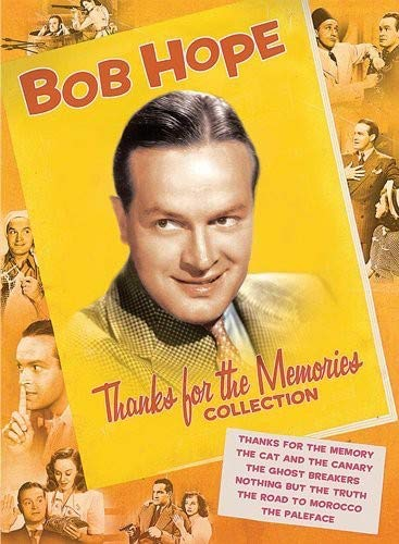 Bob Hope Thanks For The Memories Collection Thanks For The Memory The Cat And The Canary The Ghost Breakers Nothing But The Truth The Road To Morocco The Paleface