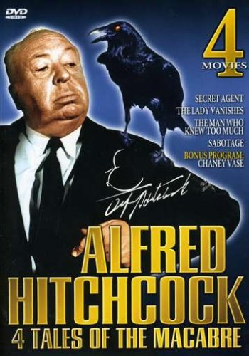 Alfred Hitchcock 4 Tales Of The Macabre - Secret Agent / The Lady Vanishes / The Man Who Knew Too Much / Sabotage