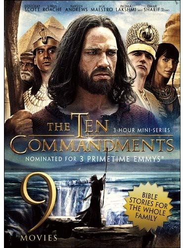 The Ten Commandments David Goliath Esther The King The Power Of The Resurrection I Beheld His Glory The Great Commandment Joseph His Brethren Martin Luther Hill Number One 9Movie Bible Stories Collection