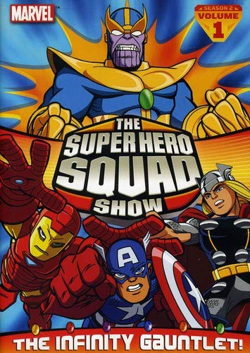 The Super Hero Squad Show The Infinity Gauntlet Vol 1