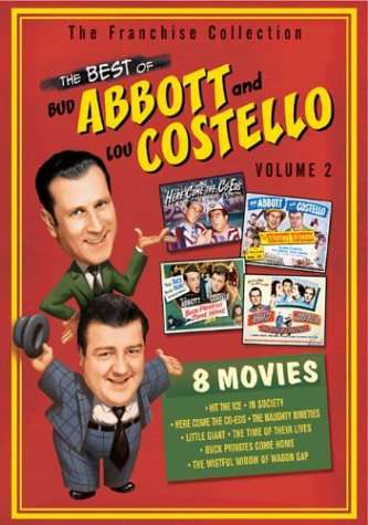 The Best Of Abbott Costello Vol 2 Hit The Ice In Society Here Come The Coeds The Naughty Nineties Little Giant The Time Of Their Lives Buck Privates Come Home The Wistful Widow Of Wagon Gap