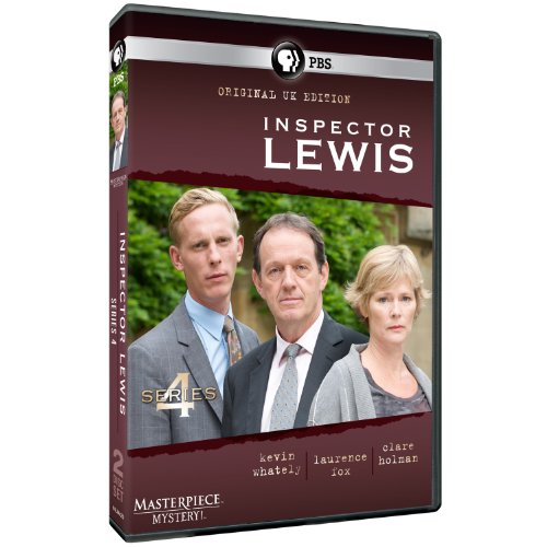 Masterpiece Mystery Inspector Lewis 4 Original Uk Edition