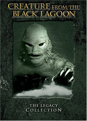 Creature From The Black Lagoon The Legacy Collection Creature From The Black Lagoon Revenge Of The Creature The Creature Walks Among Us