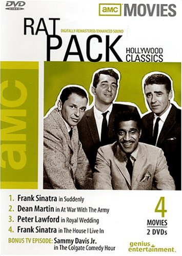 Rat Pack Hollywood Classics Suddenly At War With The Army Royal Wedding The House I Live In