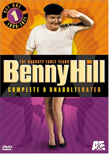 Benny Hill Complete And Unadulterated The Naughty Early Years Set One 19691971