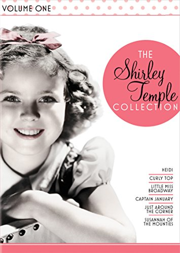 The Shirley Temple Collection, Vol. 1 Heidi / Curly Top / Little Miss Broadway / Captain January / Just Around The Corner / Susannah Of The Mounties