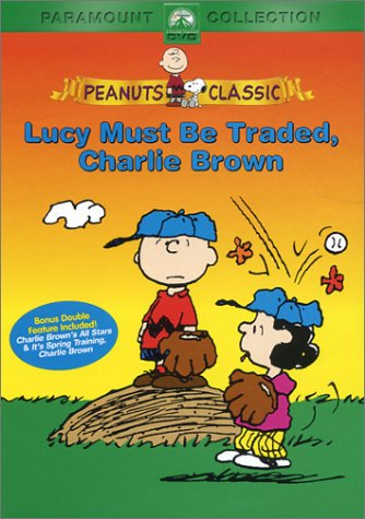 Peanuts Lucy Must Be Traded Charlie Brown