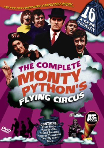 The Complete Monty Pythons Flying Circus 16 Ton Megaset