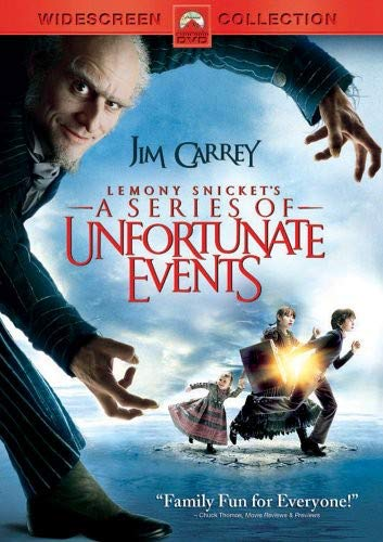 Lemony Snickets A Series Of Unfortunate Events Widescreen Edition