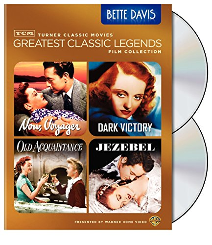 Tcm Greatest Classic Film Collection Legends Bette Davis Now Voyager Dark Victory Old Acquaintance Jezebel