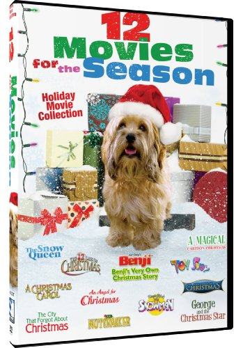 12 Movies For The Season Holiday Movie Collection Benji's Very Own Christmas Story - A Christmas Carol - The Nutcracker - The 12 Days Of Christmas 8 More!