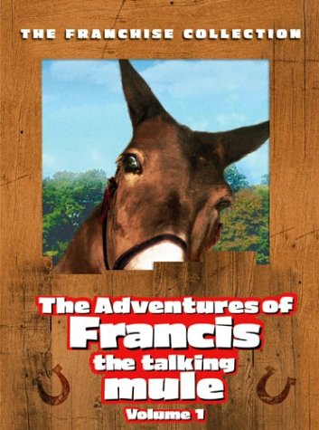 The Adventures Of Francis The Talking Mule Vol 1 Francis The Talking Mule Francis Goes To The Races Francis Goes To West Point Francis Covers The Big Town