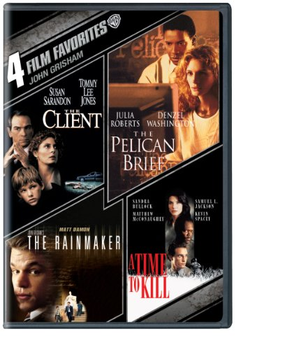 4 Film Favorites John Grisham The Client The Pelican Brief John Grishams The Rainmaker A Time To Kill