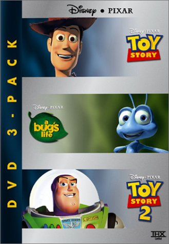 Disney Pixar Three-Pack Toy Story/A Bug's Life/Toy Story 2