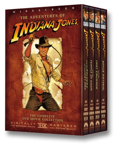 The Adventures Of Indiana Jones Raiders Of The Lost Ark The Temple Of Doom The Last Crusade Bonus Material