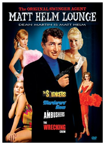 Matt Helm Lounge The Silencers Murderers Row The Ambushers The Wrecking Crew