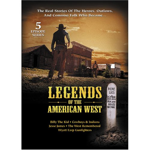 Legends Of The American West - 5 Episode Miniseries