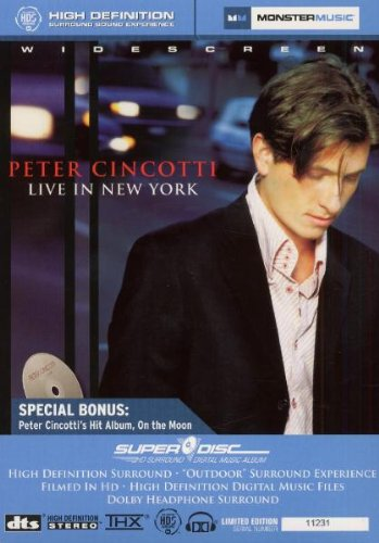 "Peter Cincotti - Live In New York With Bonus ""On The Moon"" Superdisc"