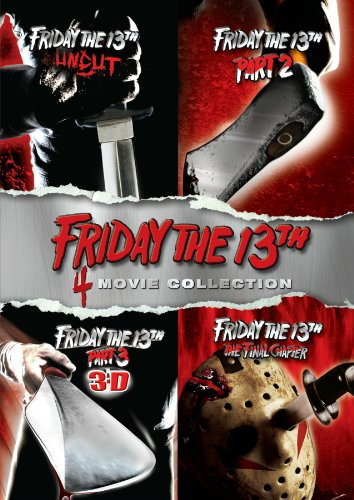 Friday The 13Th Deluxe Edition Fourpack