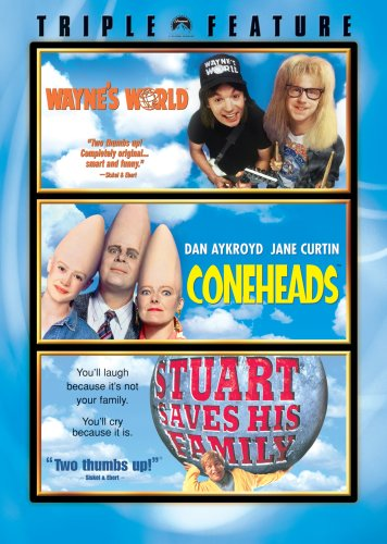 Wayne's World / Coneheads / Stuart Saves His Family Triple Feature