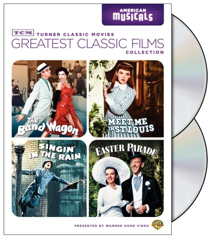 Tcm Greatest Classic Films Collection American Musicals The Band Wagon Meet Me In St Louis Singin In The Rain Easter Parade