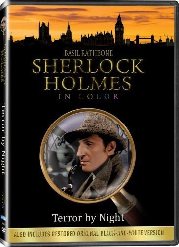 Sherlock Holmes Terror By Night Colorized / Black & White