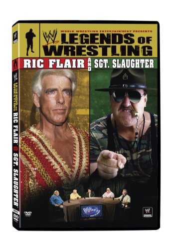 Wwe Legends Of Wrestling 5 Ric Flair & Sgt Slaughter