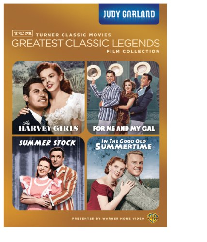 Tcm Greatest Classics Legends Judy Garland The Harvey Girls For Me And My Gal Summer Stock In The Good Old Summertime