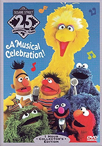 Sesame Street 25 Wonderful Years A Musical Celebration