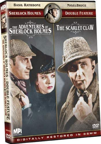 Sherlock Holmes Double Feature The Adventures Of Sherlock Holmesthe Scarlet Claw