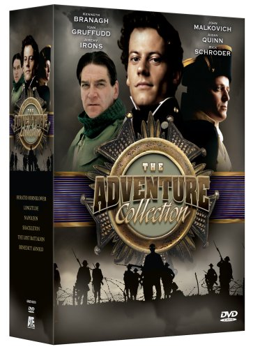 The A&E Adventure Collection Benedict Arnold / Horatio Hornblower / Shackleton / Napoleon / The Lost Battalion / Longitude