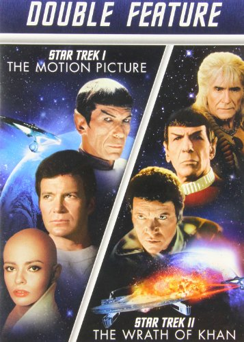 Star Trek I The Motion Picture Star Trek Ii The Wrath Of Khan Double Feature